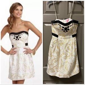 Lilly Pulitzer Christine Cocktail Dress EUC Size 4